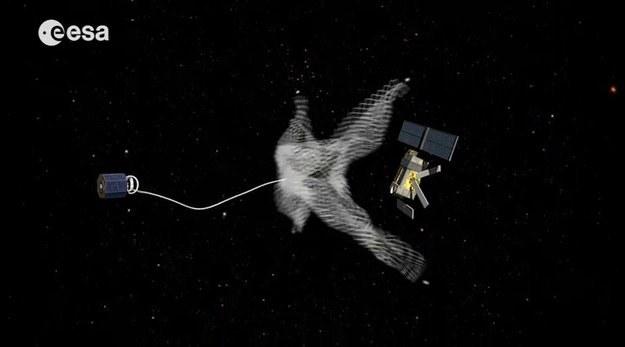 Kosmiczne śmieci stanowią poważne zagrożenie dla satelitów /materiały prasowe