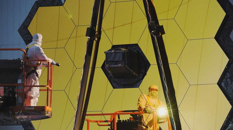 Kosmiczny Teleskop Jamesa Webba już po pierwszych testach /NASA