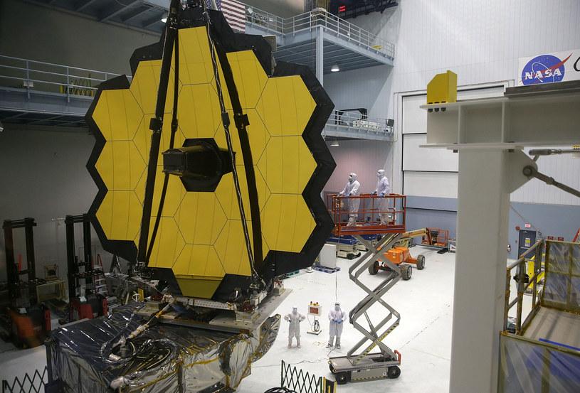 Kosmiczny Teleskop Jamesa Webba w końcu z datą startu /AFP
