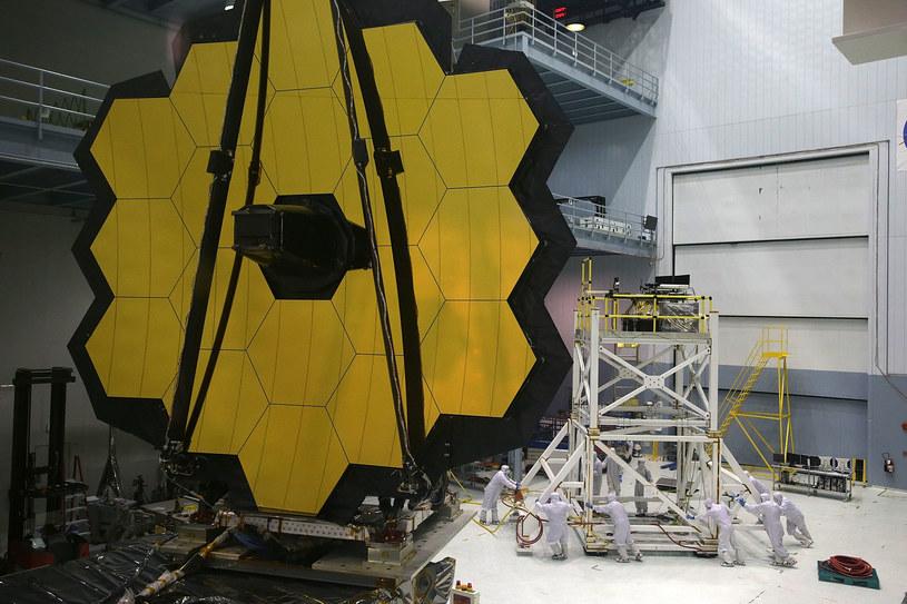Kosmiczny Teleskop Jamesa Webba z opóźnionym startem /AFP