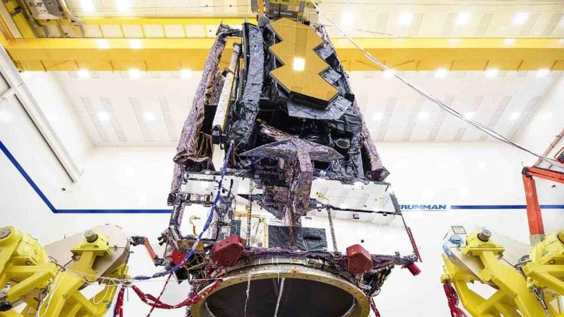 Kosmiczny Teleskop Jamesa Webba /materiały prasowe