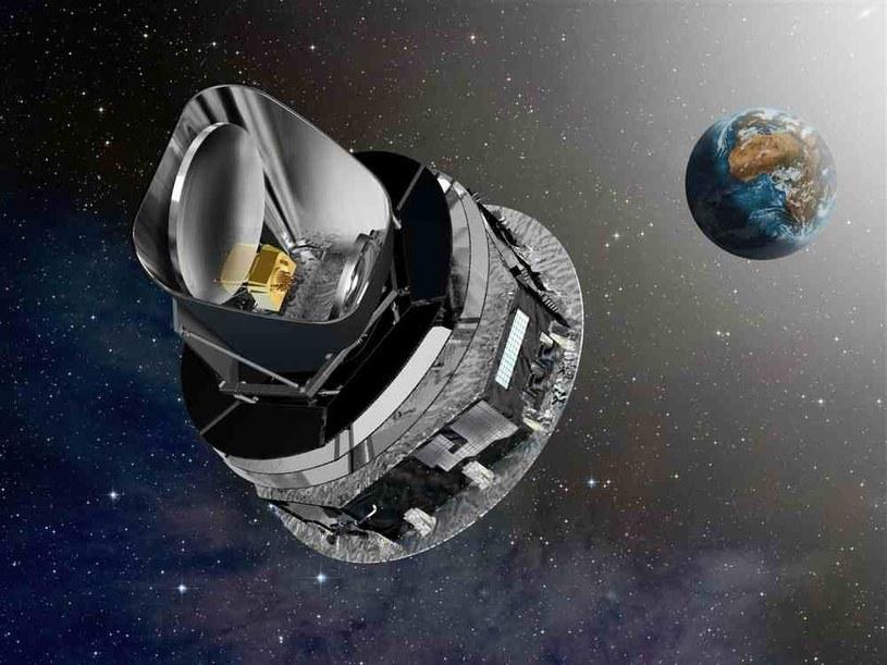 Kosmiczny teleskop Plancka /materiały prasowe