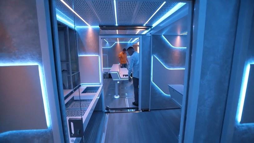 Kosmiczny wóz transmisyjny 4K HDR od Sony /materiały prasowe