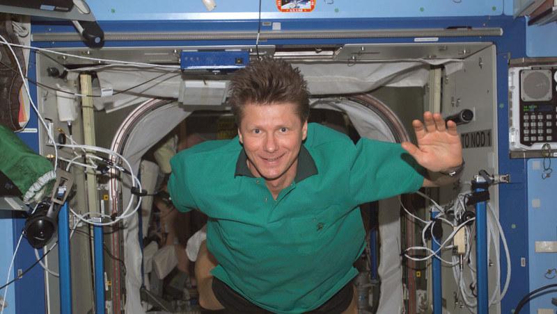 Kosmonauta Giennadij Padałka ustanowił nowy rekord łącznego przebywania człowieka w przestrzeni kosmicznej /Kosmonauta