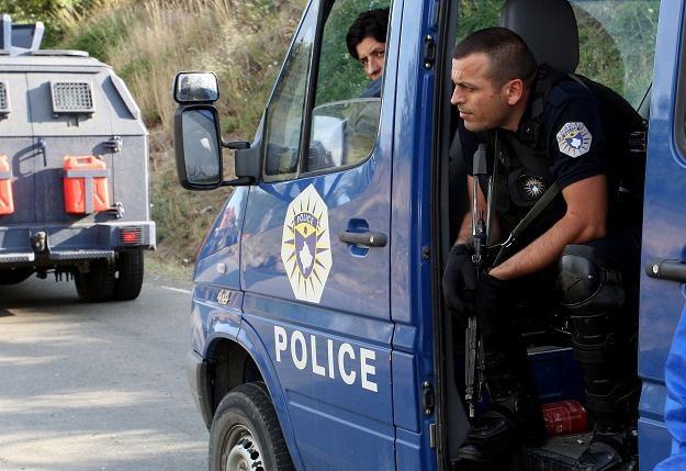 Kosowscy policjanci /AFP