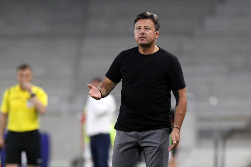 Kosta Runjaic, trener Pogoni Szczecin /KRZYSZTOF CICHOMSKI / NEWSPIX.PL /Newspix