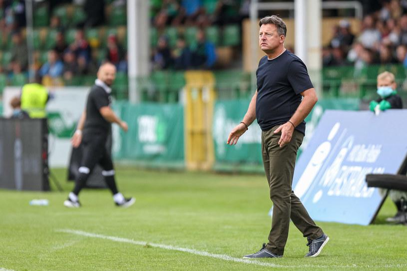 Kosta Runjaic, trener Pogoni Szczecin /Fot. Paweł Jaskółka /Newspix