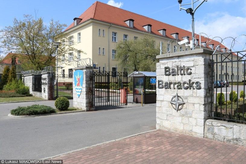 Koszary Bałtyckie NATO w Szczecinie /Łukasz Makowski /East News