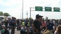 """Koszmar na granicy: """"Nie odejdziemy stąd!"""""""