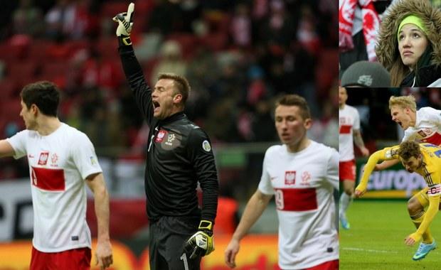 Koszmar na Narodowym! Polska przegrała z Ukrainą 1:3