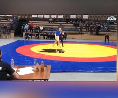 Koszmar rosyjskiego sportowca. Złamał kark podczas walki. Wideo