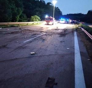 Koszmarny wypadek instagramerki. Otarła się o śmierć na autostradzie
