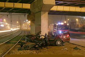 Koszmarny wypadek we Wrocławiu