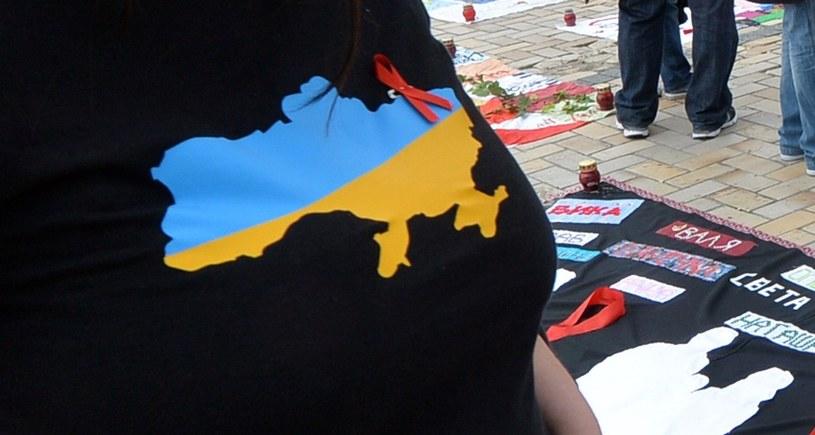Koszula  jednej z uczestników rajdu rowerowego. /AFP