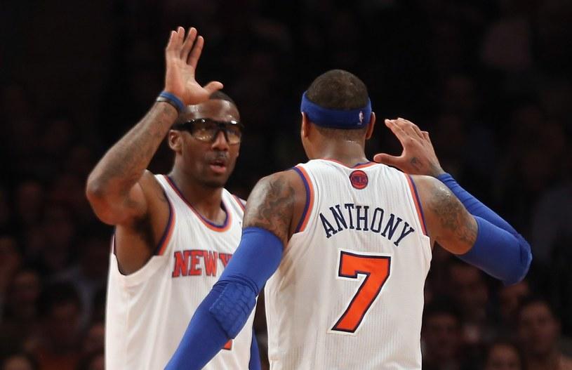 Koszulkę Carmelo z numerem 7 chce najwięcej kibiców NBA /AFP