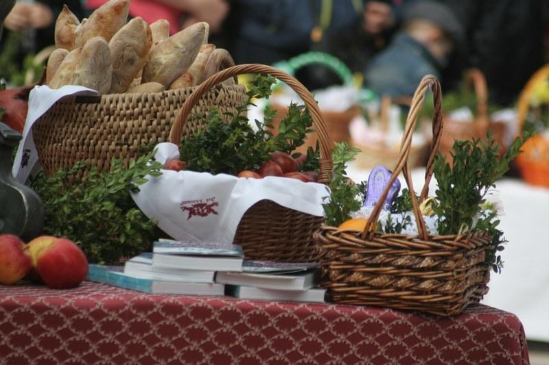 Koszyczki święcone na krakowskim rynku /Maciej Nycz, RMF FM /RMF FM