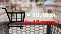 Koszyk Polaka. Sprawdziliśmy, jak rosną ceny (źródło danych: GUS)