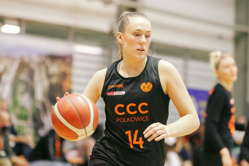 Koszykarka CCC Polkowice /Tomasz Zasinski / 058sport.pl / NEWSPIX.PL /Newspix