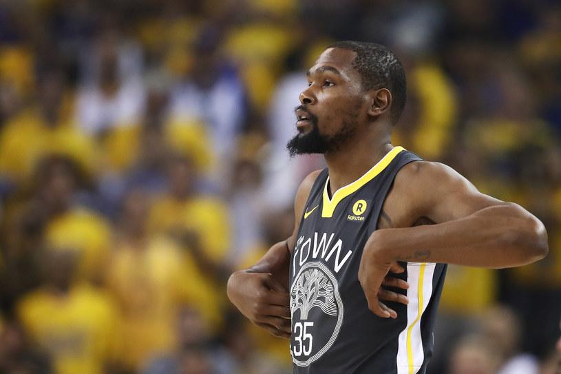 Koszykarz Brooklyn Nets Kevin Durant /AFP