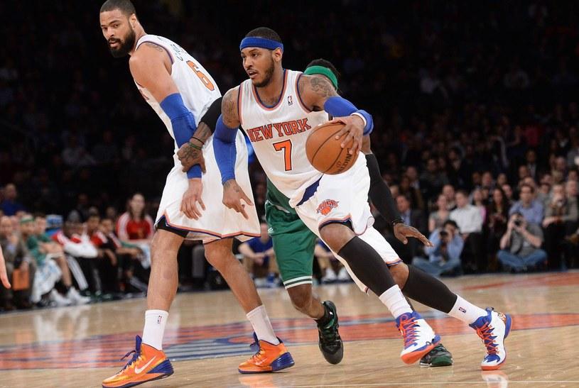 Koszykarz New York Knicks Carmelo Anthony /AFP