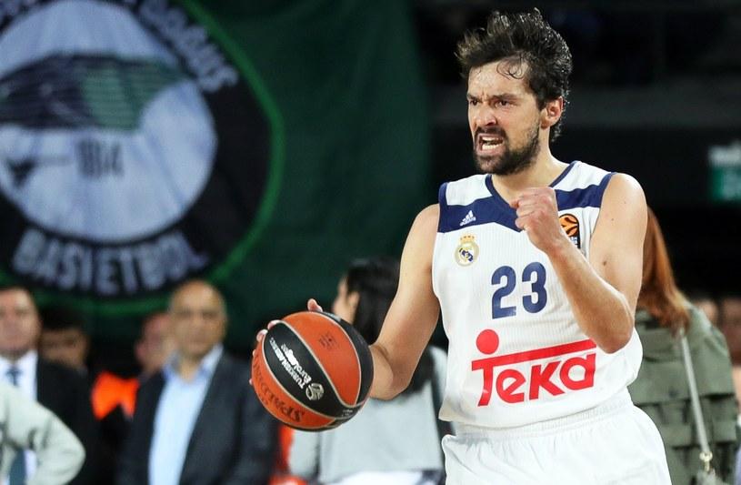 Koszykarz Realu Madryt Sergio Llull /PAP/EPA