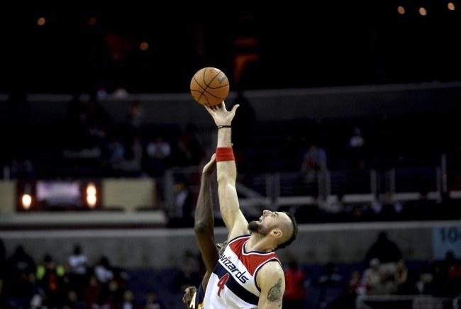 Koszykarz Washington Wizards Marcin Gortat /PAP/EPA
