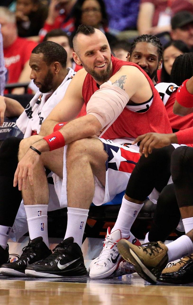Koszykarz Washington Wizards Marcin Gortat /AFP