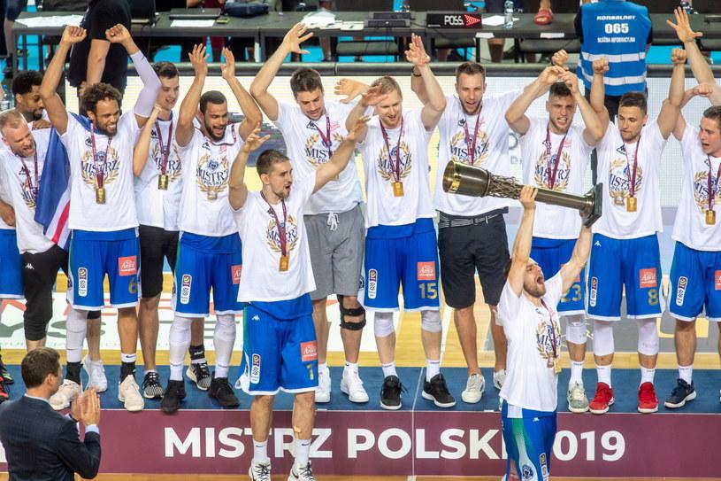 Koszykarze Anwilu Włocławek mistrzami Polski /PAP