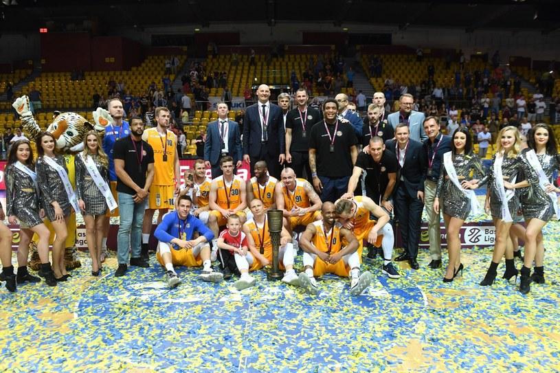 Koszykarze Arki Gdynia /Marcin Gadomski /PAP