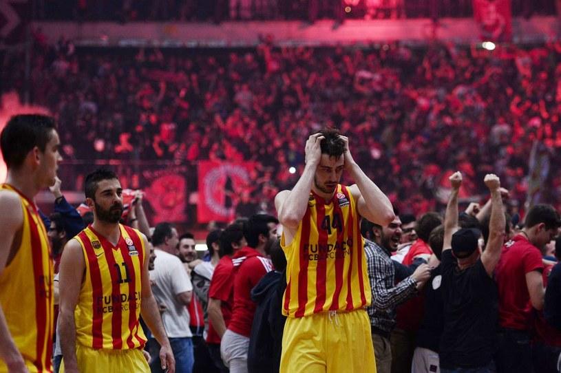Koszykarze Barcelony /LOUISA GOULIAMAKI /AFP