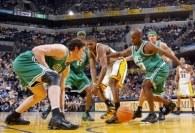 Koszykarze Boston Celtics wygrali z Indianą Pacers w czwartym meczu I rundy playoffs /AFP
