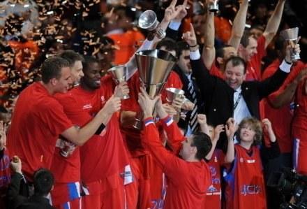 Koszykarze CSKA będą bronić tytułu /AFP