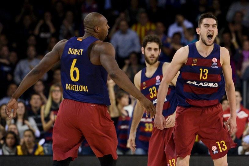 Koszykarze FC Barcelona /AFP