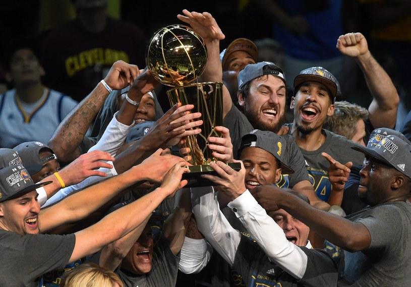 Koszykarze Golden State Warriors mistrzami NBA /AFP