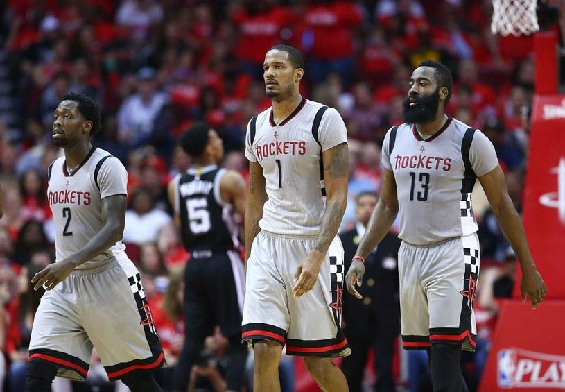 Koszykarze Houston Rockets /AFP