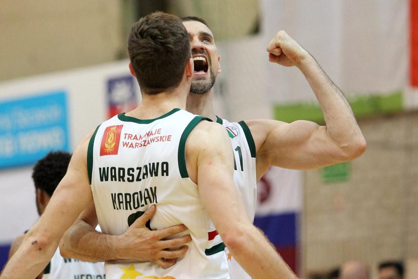 Koszykarze Legii Warszawa /FOT. KRZYSZTOF CICHOMSKI / NEWSPIX.PL /Newspix