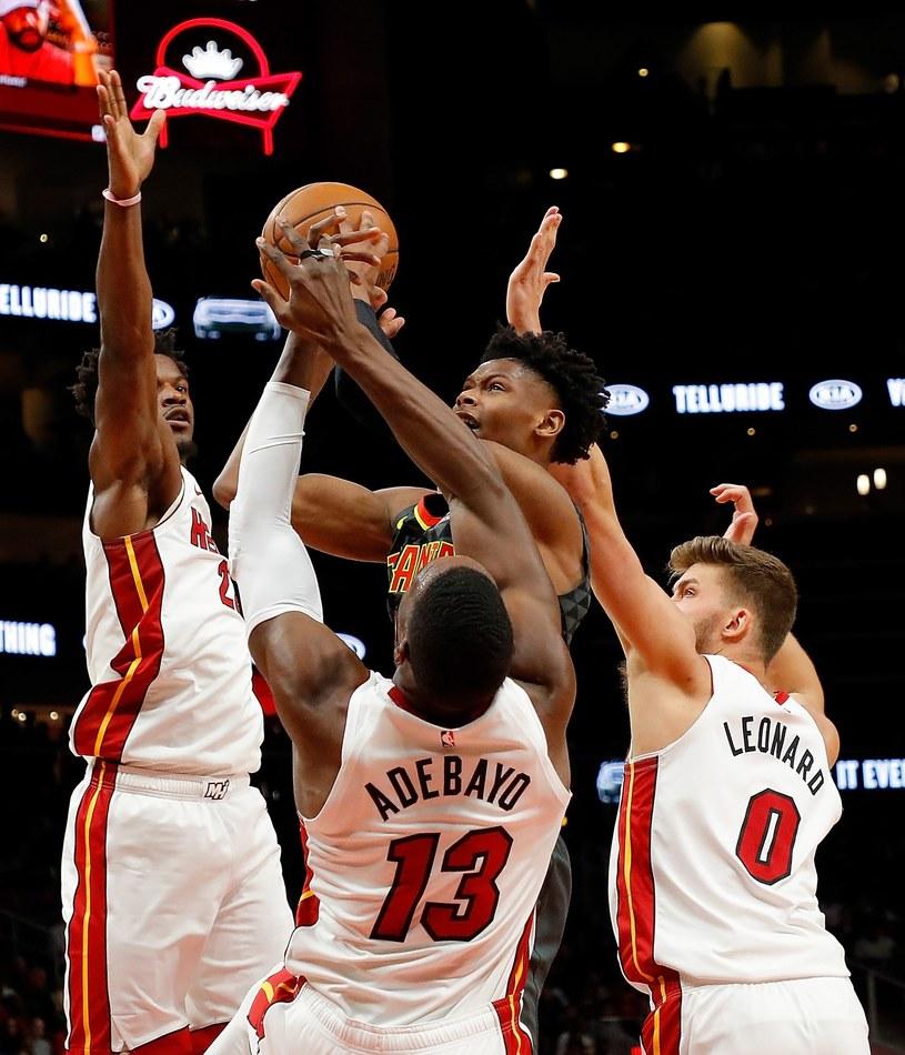 Koszykarze Miami Heat /AFP