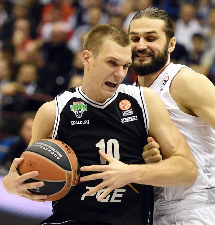 Koszykarze PGE Turów Zgorzelec mają na koncie tylko jedno zwycięstwo w Eurolidze /PAP/EPA