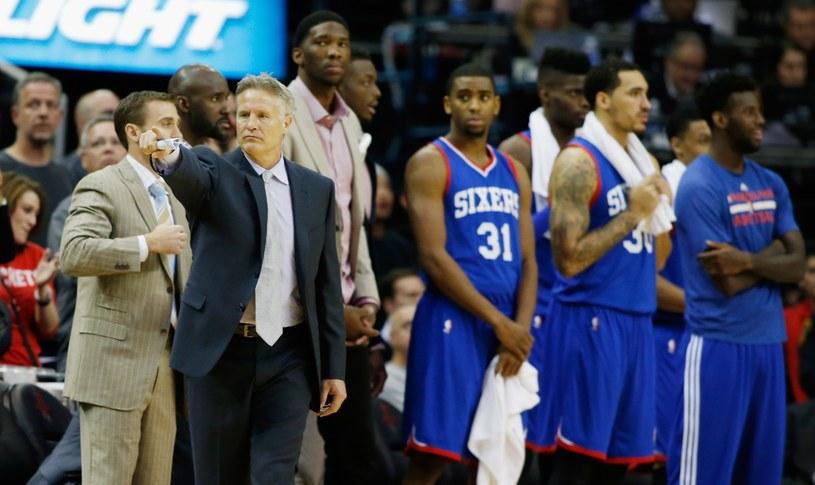 Koszykarze Philadelphia 76ers liczą na pierwsze zwycięstwo w sezonie /AFP