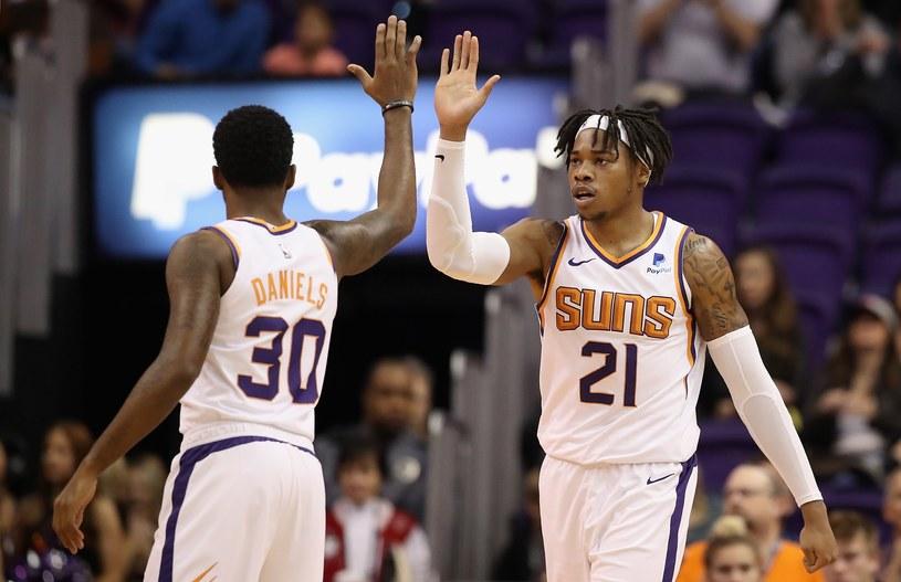 Koszykarze Phoenix Suns /AFP
