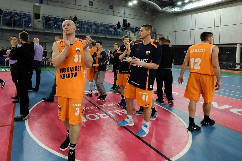 Koszykarze R8 Basket AZS Politechnika Kraków /Paweł Krawczyk /INTERIA.PL