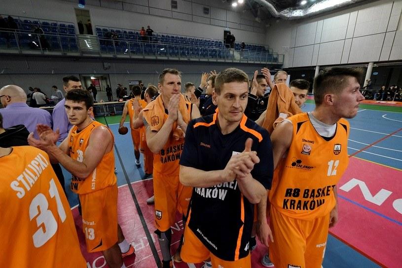 Koszykarze R8 Basket w przyszłym sezonie zagrają na zapleczu Ekstraligi /Paweł Krawczyk /INTERIA.PL