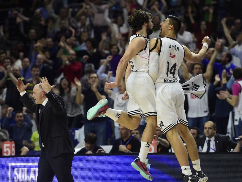 Koszykarze Realu Madryt /AFP