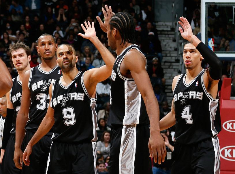 Koszykarze San Antonio Spurs mają obecnie najlepszy bilans w lidze NBA /AFP