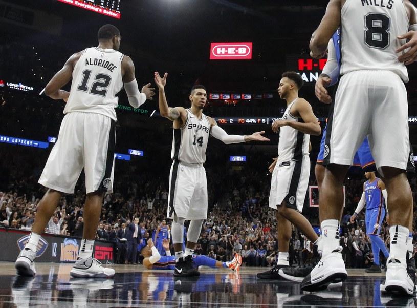 Koszykarze San Antonio Spurs /AFP
