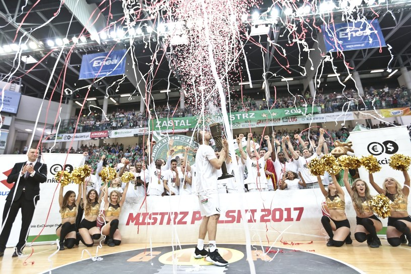 Koszykarze Stelmetu BC /Piotr Jędzura /Reporter