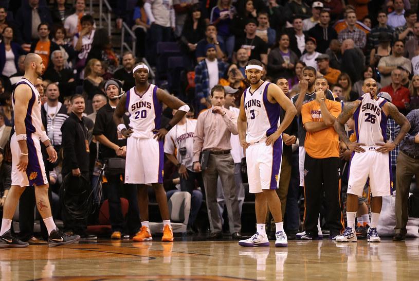 Koszykarze z Phoenix po raz kolejny musieli uznać wyższość rywali /AFP