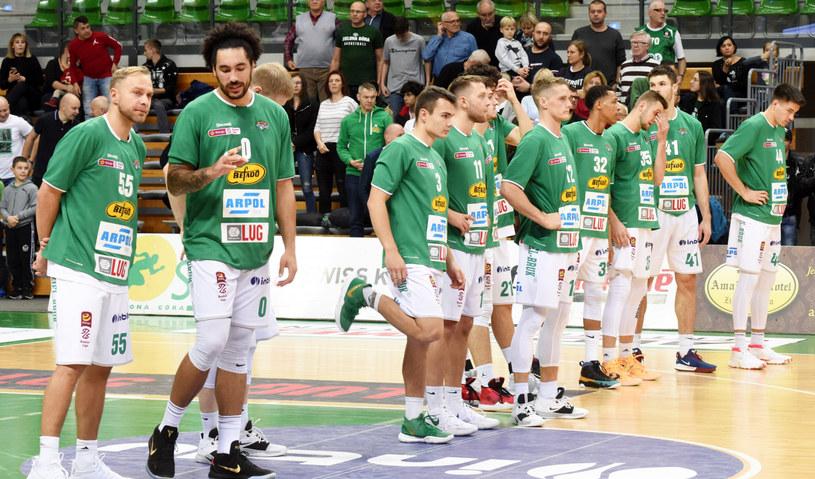 Koszykarze z Zielonej Góry /Mariusz Kapala /East News
