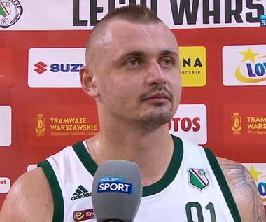 Koszykówka. Dariusz Wyka: Łatwiej nam gonić, niż bronić przewagi (POLSAT SPORT). Wideo