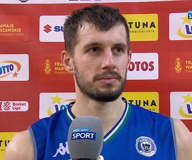 Koszykówka. Krzysztof Sulima: Legia wykorzystała mnóstwo naszych strat (POLSAT SPORT). Wideo